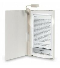 SONY PEARL LEATHER SKIN COVER WITH BUILT IN LIGHT FOR READER PRSA-CL10 (19 HRS)