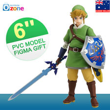 6'' The Legend of Zelda Link Skyward Sword Action Figure Toy Figma Model Gift