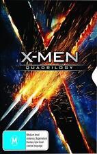X-MEN Quadrilogy 4 MOVIES & 8 DISCS NEW