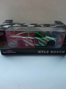 Nascar Authentics KYLE BUSCH 1:24 Toyota 18 Interstate Official Track Car