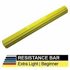 """Thera-Band Flex Bar Resistance Bar in Yellow 6 lbs Force - 12"""" x 1.5"""""""