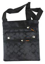 Womens Ladies Thin Flat Crossbody Purse Bag Wallet Travel Shoulder Messenger