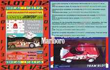 ANEXO DECAL SLOT 1/32 LANCIA STRATOS SANDRO MUNARI RALLY SANREMO 1974 (01)