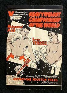 Muhammad Ali - Cassius Clay vs Ernie Terrell - Closed-Circuit TV Program- Boxing