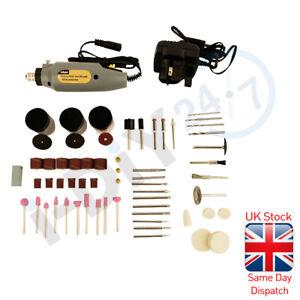 160pc Electric Rotary Mini Drill & Bit Set Jewellery Making Craft Hobby Tool Kit