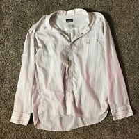Patagonia Organic Cotton Men's Snap Button Shirt Size Large
