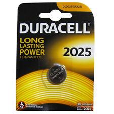 10 batterie CR 2025 DURACELL CR2025 DL2025 ECR2025 3V LITIO spedizIone tracciata