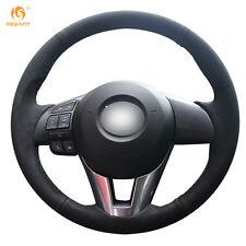 DIY Suede Steering Wheel Cover for Mazda CX-5 Mazda 3 Mazda 6 Scion iA #MZ32