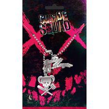 Licenza Ufficiale Squadra suicida Harley Quinn COLLANA CON CIONDOLO DOG TAG