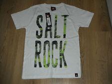 BNWT  SALTROCK Age 7-8 Years Boys White Tshirt short sleeve  Brand New
