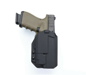 OWB kydex holster with RTI Glock 19, 19X, 45, 23 with APLc, TLR-7