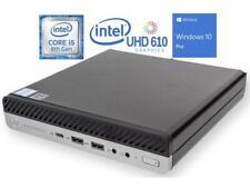 HP EliteDesk 800 G4 Mini PC 5EK78UP#ABA Intel Core i5 8500T 3.5Ghz 256 NVMe SSD