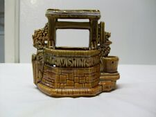 Vintage McCoy Pottery Wishing Well Planter - 1950