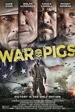 WAR PIGS MANIFESTO LUKE GOSS DOLPH LUNDGREN MICKEY ROURKE CHUCK LIDDELL SEGAN
