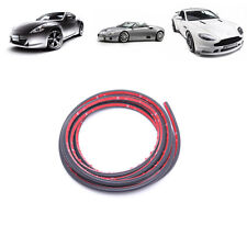 4M Small D Car Door Rubber Weather Seal Strip EPDM Noise Insulation Weatherstrip