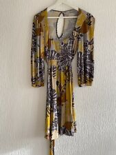 MUSTARD GREY FLORAL DRESS TOPSHOP TALL 12 TOWIE PARTY WINTER FIT CASUAL WEAR FUN