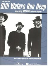 """THE BEE GEES """"STILL WATERS RUN DEEP"""" SHEET MUSIC-PIANO/VOCAL/GUITAR-NEW ON SALE!"""