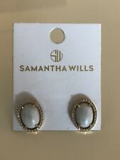 Marble Yellow Gold Samantha Wills Stud Earrings