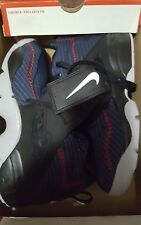 "NIKE AIR DIAMOND TURF ""DEION SANDERS"" MID NAVY SIZE 9 309434-400"