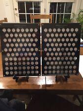 Beautiful Glossy Black Acyrlic 2 Piece Display For Jefferson Nickels