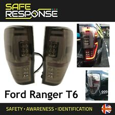 Ford Ranger T6 T7 2016+ Pair of LED Rear Lights Smoked Wildtrak