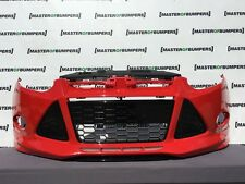 FORD FOCUS ZETEC S 2011-2014 FRONT BUMPER IN RED COMPLETE [F161]