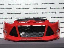 FORD Focus Zetec S 2011-2014 paraurti anteriore in Rosso completa [F161]