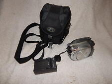 PANASONIC VDR-D00 DVD Video Camera w/ 30x Optical Zoom with charger