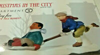 Dept 56 SHOVEING FUN CHRISTMAS IN THE CITY 808837 RETIRED 2010 RARE VINTAGE DV88