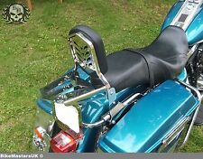 Harley-Davidson Road King sissy bar passager dosseret + porte-bagages!