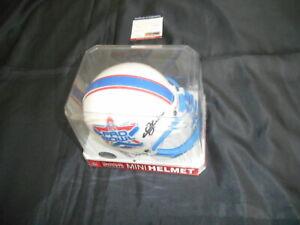 Mint cond Junior Seau Signed 2002 Pro Bowl Mini Helmet Autographed COA PSA