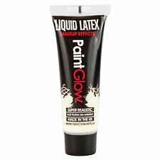 PaintGlow Liquid Latex Fake Wounds Scars Halloween Zombie Vampire Fancy Dress