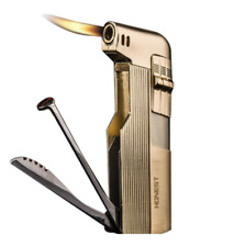 "Rollo Gold Middle Finger ""Fck Off"" Refillable Butane Torch Lighter"