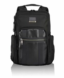 NEW With Tags Tumi Men's Alpha Bravo Nellis Backpack, Black,