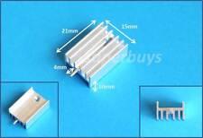 3pcs 21 x 15 x 10mm Heatsink Heat Sink Pin IC TO-220 Transistors Mosfet T0
