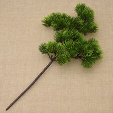 Pine Tree Branches Plastic Pinaster Plant Artificial Fall Leaves Home Decoration