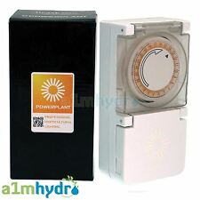 More details for powerplant heavy duty 24 hour 15 minute grow light timer 600w hydroponics