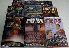 Star Trek Hardcover 9 Book Lot-Best Destiny+Shadows+Chaos+Prometheans+More