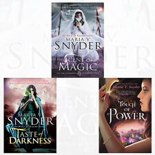 Maria V. Snyder Collection An Avry of Kazan Novel 3 Books Set Taste of Darkness