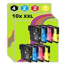 10x für Brother DCP195C MFC250C DCP145C DCP165C DCP375CW MFC255CW Tinte Patronen
