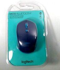 Logitech M535 Compact Bluetooth Mouse, Blue (910-004529) Brand New