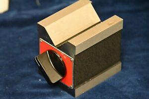 New Starrett Dual-Vee Magnetic V-Block 566 EDP 63323