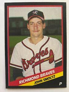 1988 CMC AAA Richmond Braves JOHN SMOLTZ Minor League RC #1988-279,  HOF