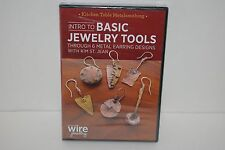 Intro to Basic Jewelry Tools Through 6 Metal Earring Designs (DVD, 2015) NEW!