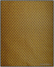 Antique Radio Speaker / Grille Cloth,L.Herringbone, 18x24,True 1930s duplication