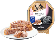 Sheba Fine Flakes with Salmon in Jelly 22 x 85g