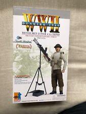 "Dragon WWII 1/6 British Bren AA Gunner ""Daniel Winston"" Dunkirk 1940"