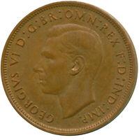 1937 ONE PENNY UNC GEORGE VI. GB    #WT13901