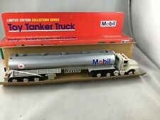 Mobil Toy Tanker Truck Limited Edition Collectors Series Head Tail Lights Horn