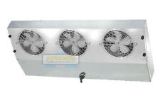 Thin Profile Reach-In Freezer Evaporator 3 Fans Blower 2,150 BTU, 340 CFM, 115V